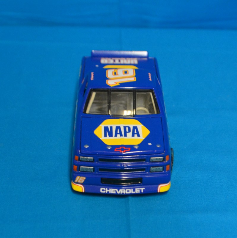 Nascar Napa Ron Hornaday Jr #16 1:24 Blue Diecast Truck