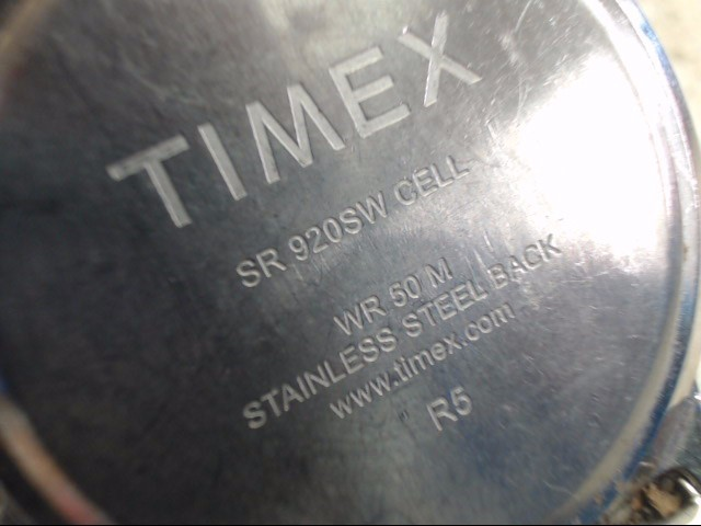 TIMEX Gent's Wristwatch SR920SW CELL