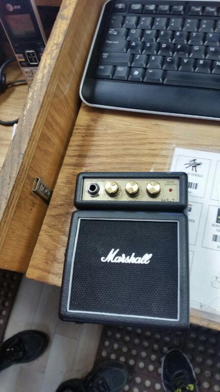 MARSHALL Electric Guitar Amp MS-2 MICRO-MINI AMP
