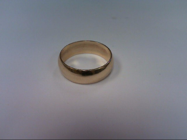 Lady's Gold Wedding Band 14K Yellow Gold 2.3dwt