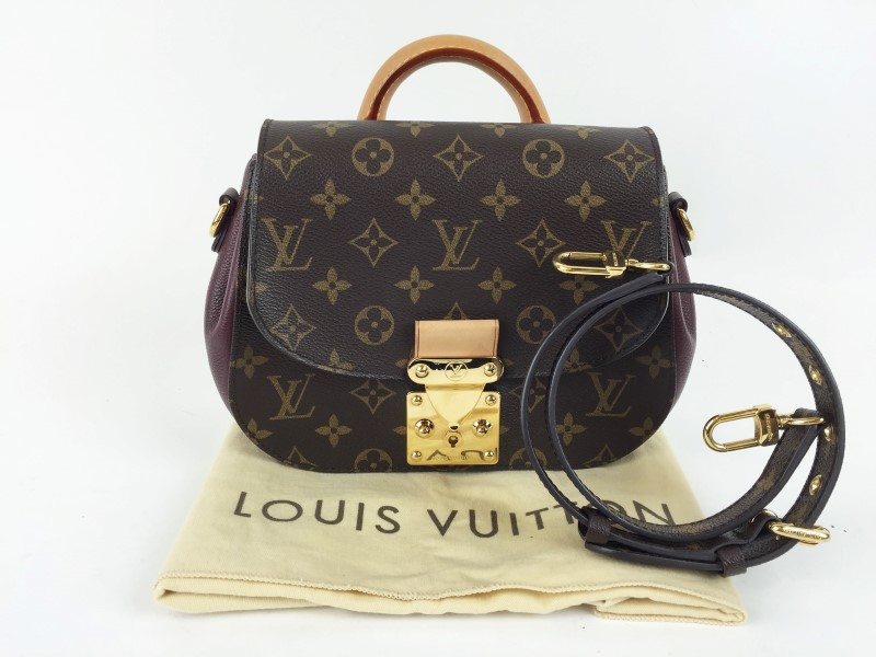 LOUIS VUITTON EDEN PM MONGRAM W ROUGE ACCENT