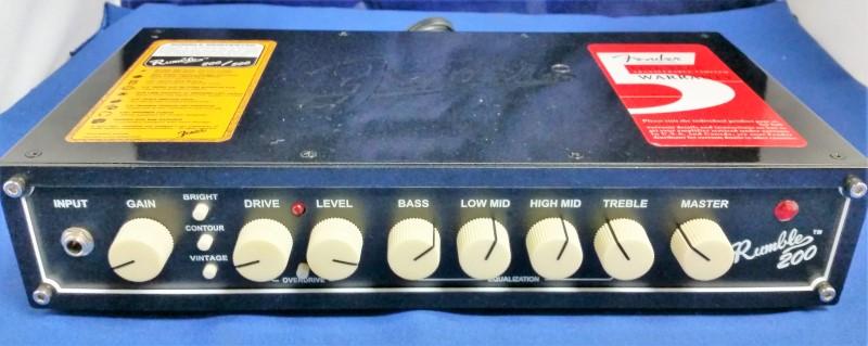 FENDER BASS HEAD AMP RUMBLE 200