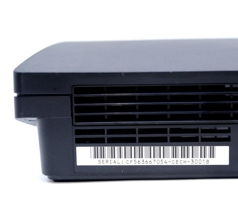 Sony Playstation 3 PS3 Slim 320GB CECH-3001B Black Console Bundle *