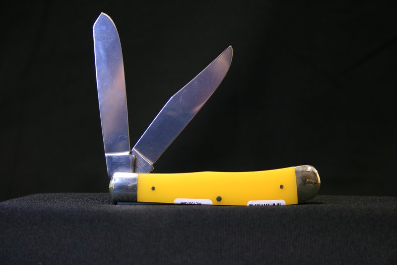 Hen & Rooster 312Y Yellow Pocket Knife