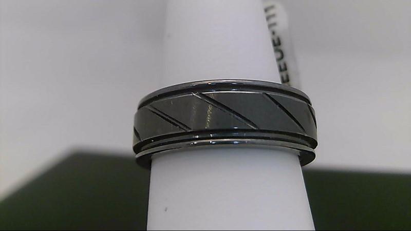Gent's Ring Silver Tungsten 12.4g