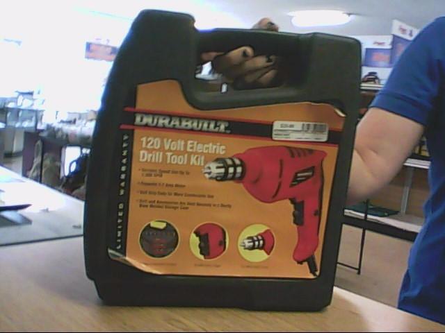 DURABUILT Corded Drill ELECTRIC DRILL TOOL KIT