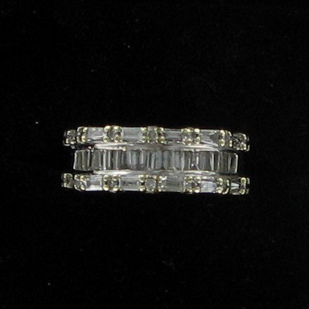 Lady's Diamond Fashion Ring 20 Diamonds .20 Carat T.W. 10K Yellow Gold 2.5dwt