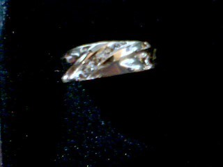 Lady's Diamond Solitaire Ring 3 Diamonds .03 Carat T.W. 10K 2 Tone Gold 3.3g