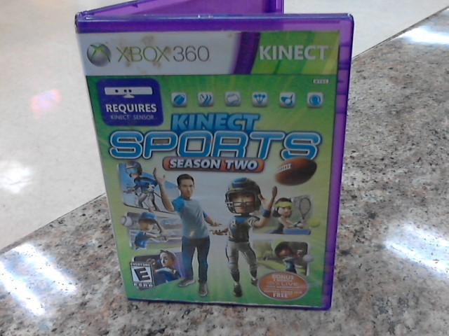 MICROSOFT Microsoft XBOX 360 Game XBOX 360 KINECT SPORTS