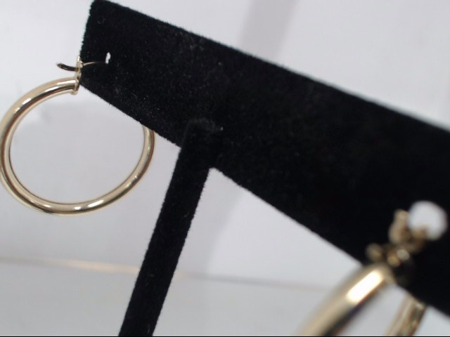 Gold Earrings 10K Yellow Gold 1.9g