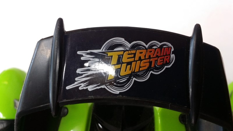 MATTEL TERRAIN TWISTER WITH REMOTE