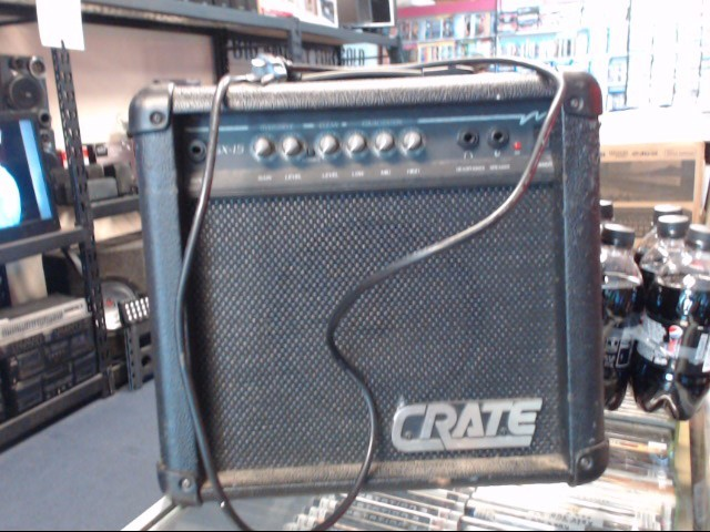 CRATE Electric Guitar Amp GX-15 PERSONAL LEAD