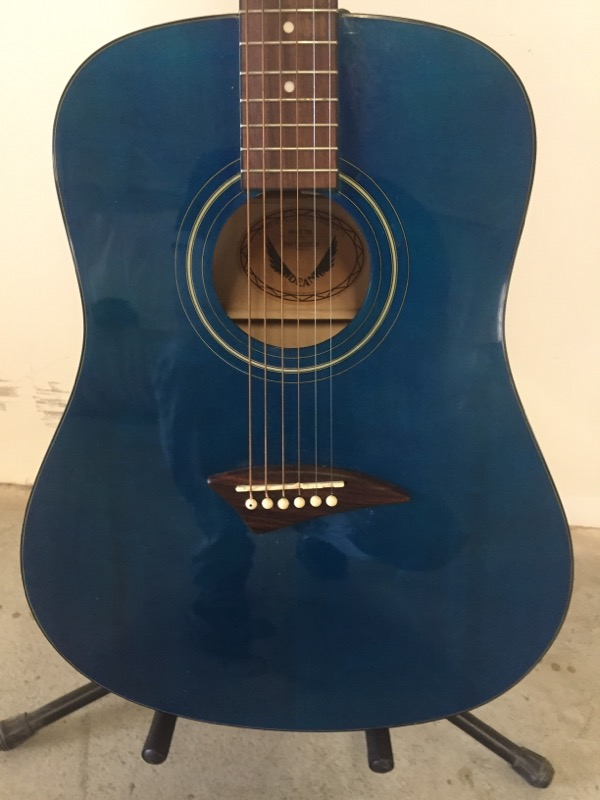 DEAN GUITARS Acoustic Guitar AK48 TBL