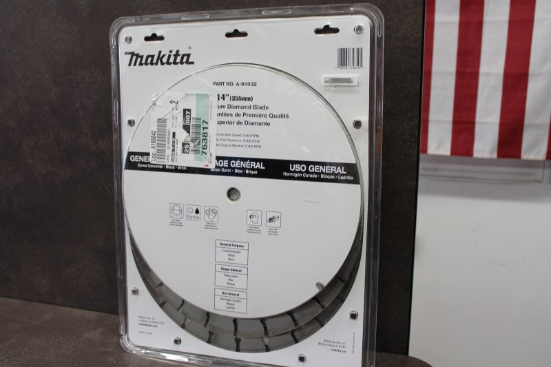 "MAKITA 14"" Diamond Blade 3 Pack A-94552"
