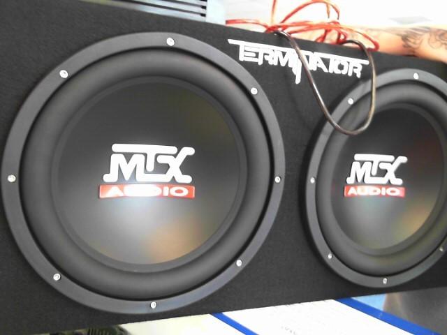 MTX AUDIO Car Speakers/Speaker System TNE212D