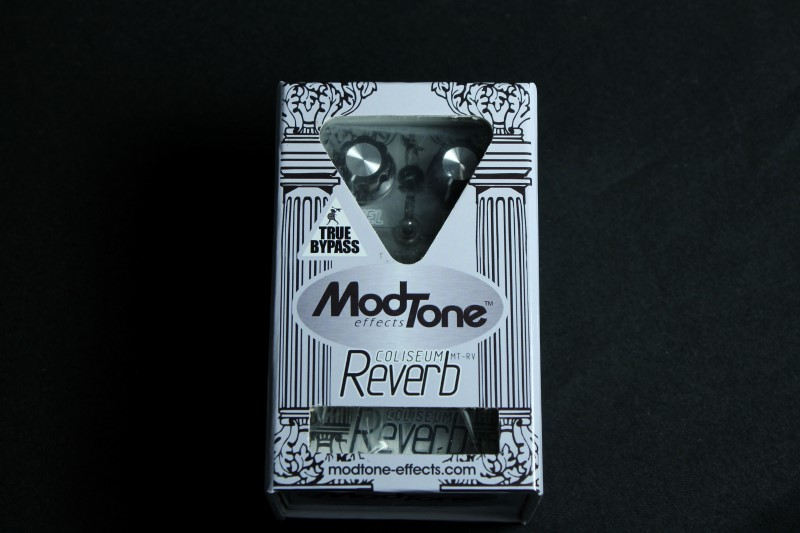 Modtone MT-RV Coliseum Reverb Guitar Stomp Box Effects Pedal