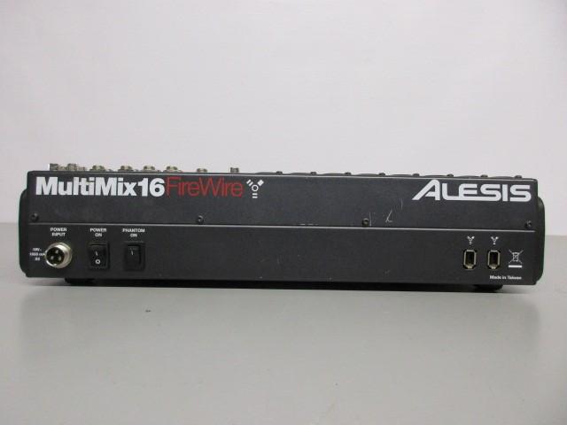 ALESIS MULTIMIX 16 FIREWIRE 16-CHANNEL MIXER