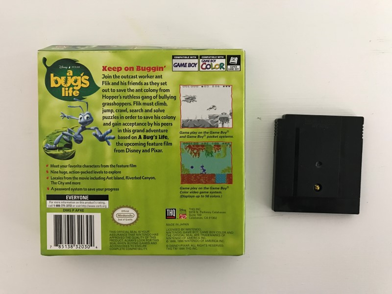 A BUG'S LIFE: GAME BOY COLOR