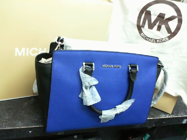 MICHAEL KORS Handbag BLACK-SAPPHIRE SELMA BAG