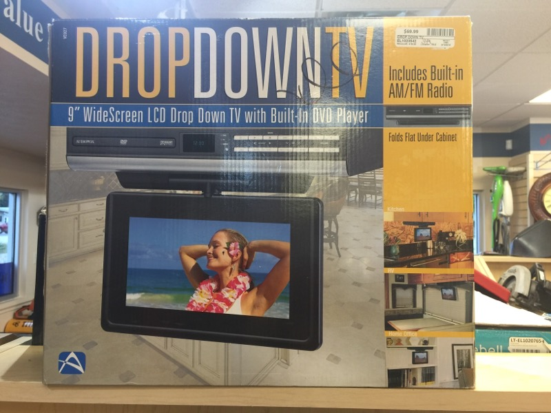 DROP DOWN TV DVD Player DOWN TV