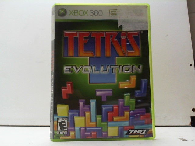 MICROSOFT Microsoft XBOX 360 Game TETRIS EVOLUTION
