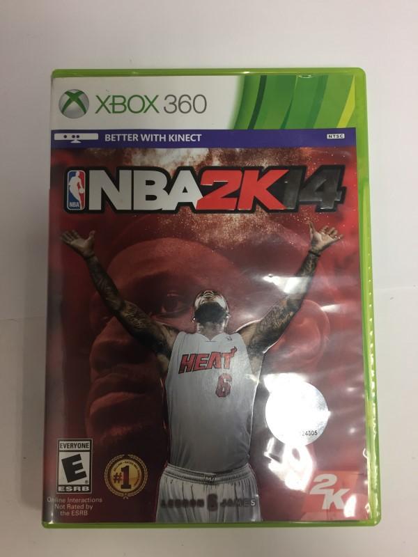 MICROSOFT XBOX 360 NBA 2K14