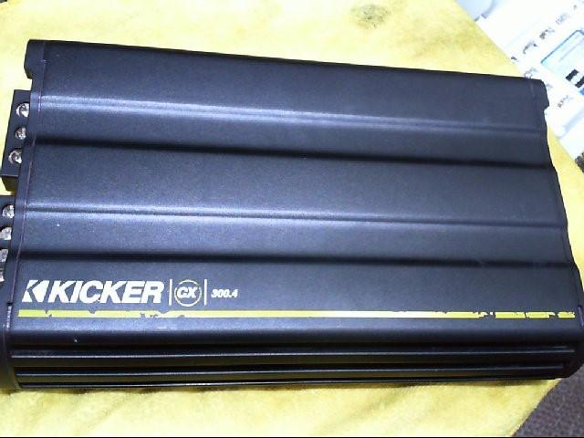 KICKER Car Amplifier CX300.4