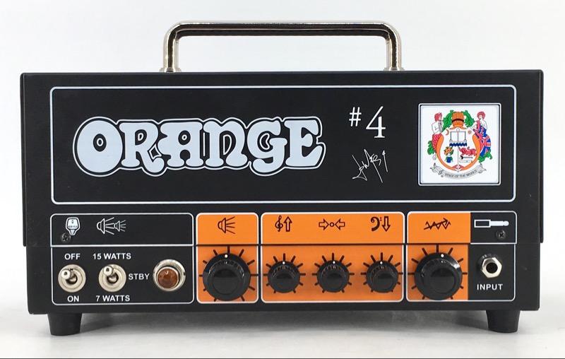ORANGE JIM ROOT SIGNATURE #4 TERROR TINY TUBE AMP