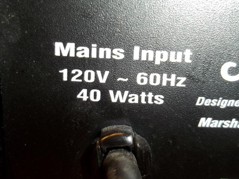MARSHALL GUITAR AMP MG10CD