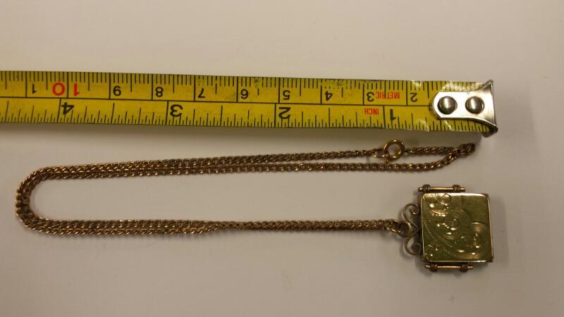 Necklace/Pendant  10k gf 5.3dwt