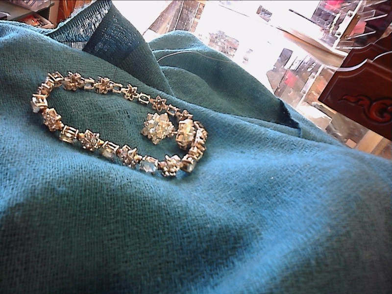 Blue Stone Silver-Stone Bracelet 925 Silver 10dwt