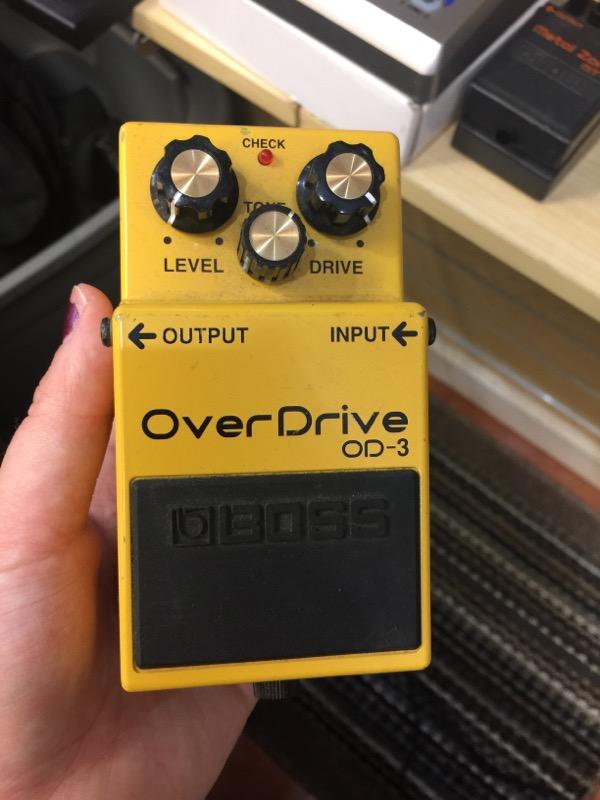 BOSS Effect Equipment OD-3