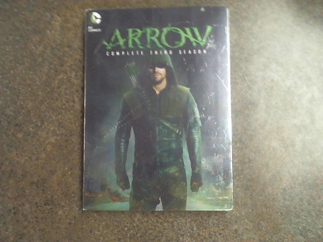 DVD BOX SET DVD ARROW THE COMPLETE THIRD SEASON