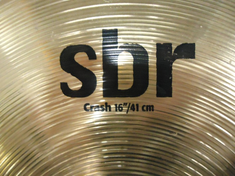 "SABIAN Cymbal SBR 16"" CRASH"