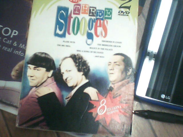 VHS MOVIE Entertainment Memorabilia 3 STOOGES