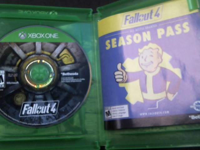 XBOX ONE FALL OUT 4