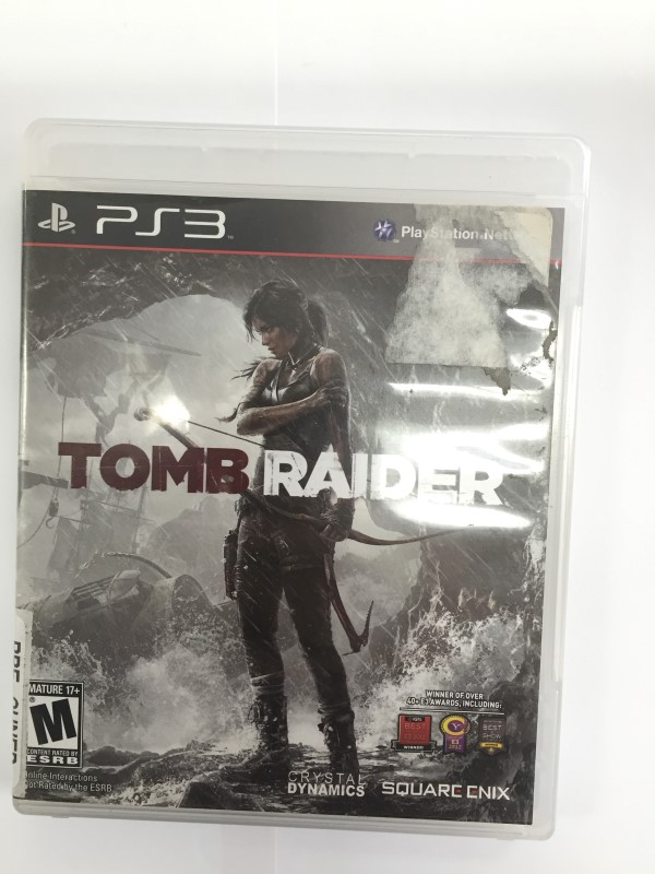 SONY PLAYSTATION-3, TOMB RAIDER GAME, GOOD CONDITION.