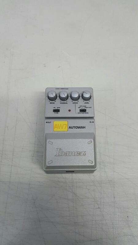 Ibanez AW7 AUTOWAH Guitar Effect Pedal