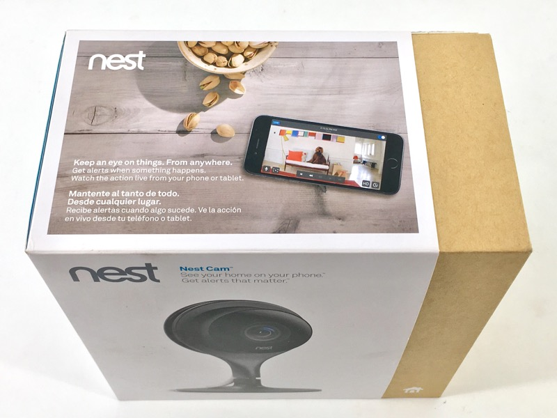 NEST CAM NC1102ES SECURITY CAM 27/7 LIVE VIDEO 1080P