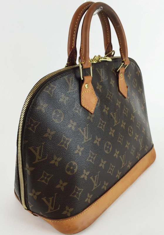 LOUIS VUITTON MONOGRAM ALMA MM HANDBAG