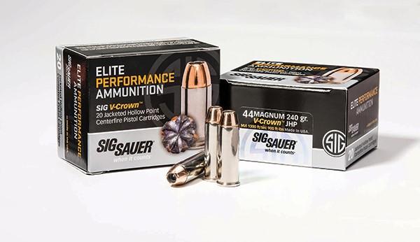 SIG SAUER Ammunition 44 MAG