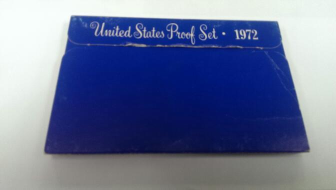 UNITED STATES 1972 PROOF SET