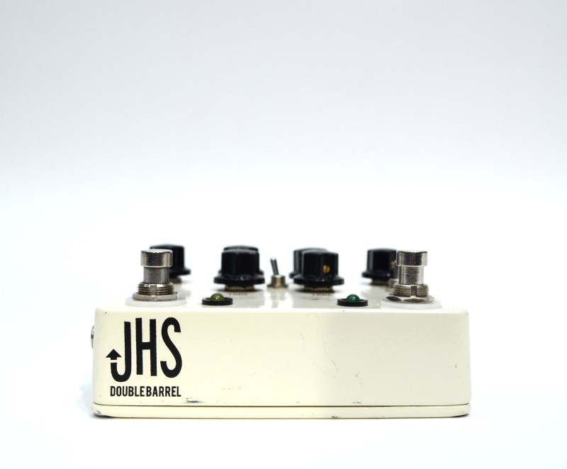 JHS Pedals Double Barrel V3 Dual Overdrive Guitar Effect Pedal {