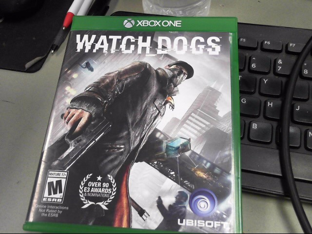 MICROSOFT Microsoft XBOX One Game WATCHDOGS - XBOX ONE