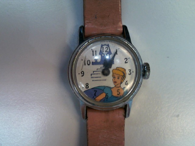 DISNEY Lady's Wristwatch CINDERELLA WATCH