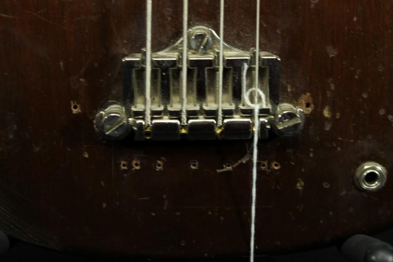 1970's Gibson Bass Walnut 4 String Guitar EB-0 Made In USA