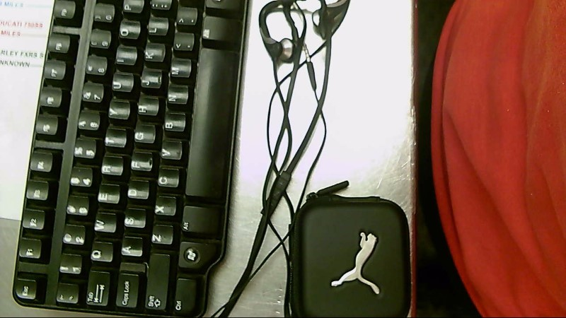PUMA CLIP-ON EARBUDS,CASE