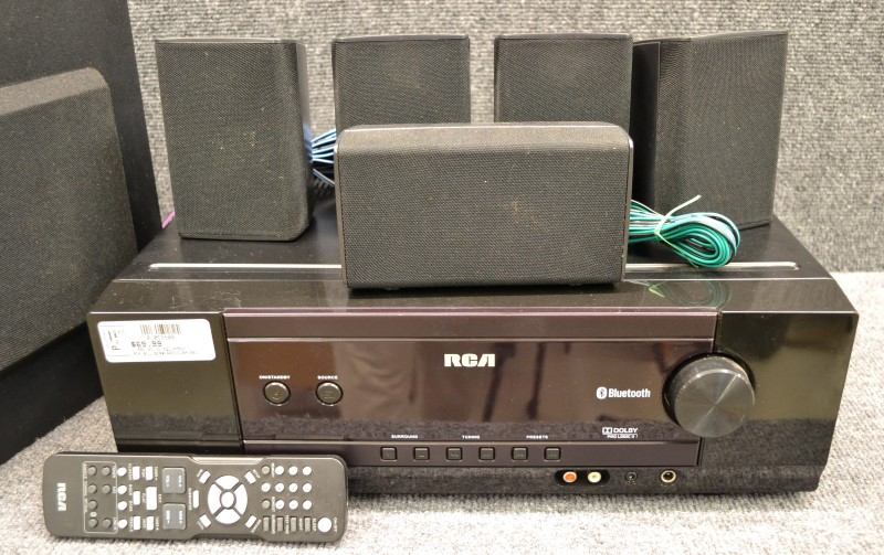 RCA Home Theatre Stereo BLUETOOTH RECEIVER