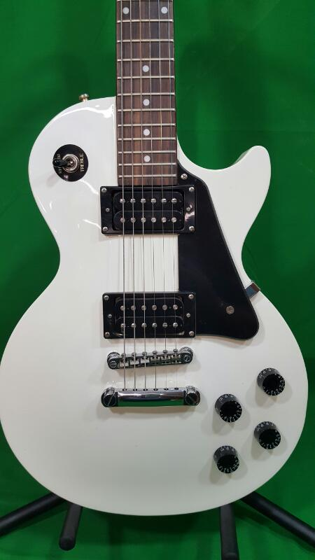 epiphone les paul studio electric guitar alpine white acceptable buya. Black Bedroom Furniture Sets. Home Design Ideas
