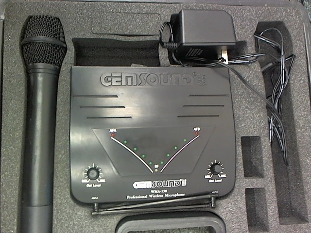 GEM SOUND Microphone WMA-130